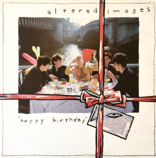 Altered Images ‎- Happy Birthday (LP) (EX-/G-)